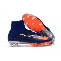 Nike Mercurial Superfly FG 5 DF FG Scarpa da Calcio - Blu Arancio