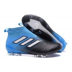 Adidas ACE 17+ PureControl FG Scarpini da Calcio - Nero Blu