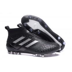 Scarpa da Calcio Nuove Adidas ACE 17+ PureControl FG - Nero Metallico
