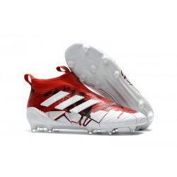 adidas Scarpe Calcio Ace 17+ Pure Control FG - Rosso Bianco