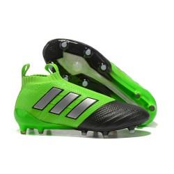 adidas Scarpe Calcio Ace 17+ Pure Control FG - Verde Nero