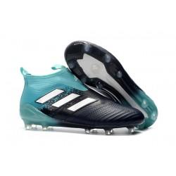 Scarpa da Calcio adidas Ace 17+ Pure Control FG Uomo - Nero Blu