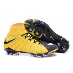 Scarpe da Calcio Nike Hypervenom Phantom III DF FG - Giallo Nero