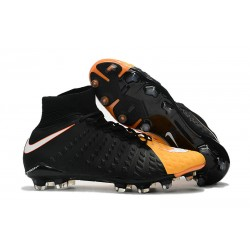 Nike Neymar Scarpini da Calcio Hypervenom Phantom 3 DF FG - Nero Arancio