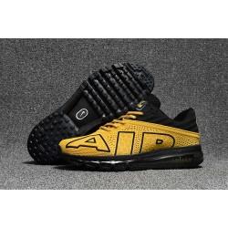 Scarpa Sportiva Nike Air Max Flair Uomo Oro Nero