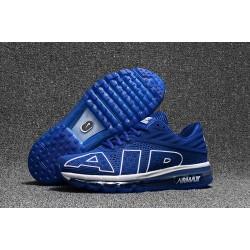 Scarpa Sportiva Nike Air Max Flair Uomo Blu Bianco