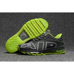 Scarpa Sportiva Nike Air Max Flair Uomo Grigio Verde