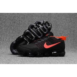 Scarpe Nike Air VaporMax 2018 Flyknit - Nero Rosso