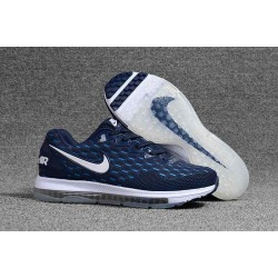 Nike Air Zoom Scarpe Uomo - Ciano Bianco