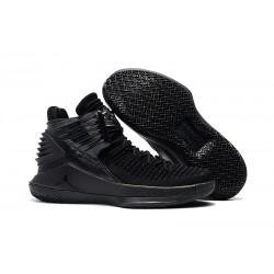 Nike Scarpe Air Jordan 32 Uomo Tutto Nero