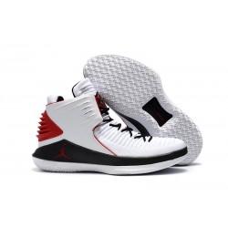 Nike Scarpe Air Jordan 32 Uomo Bianco Rosso Nero
