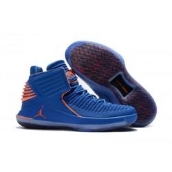 Nike Scarpe Air Jordan 32 Uomo Blu Arancio