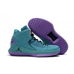 Nike Scarpe Air Jordan 32 Uomo Blu Viola