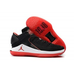Nike Air Jordan 32 Mid Scarpe da Basket Uomo - Nero Rosso