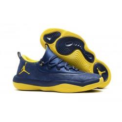 Nike Air Jordan Super.Fly 2018 Scarpa da Basket - Blu Giallo
