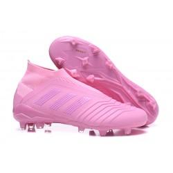 adidas Predator 18+ FG Scarpa Rosa