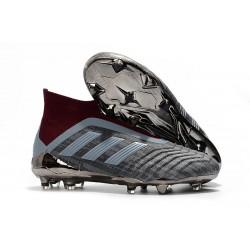 Paul Pogba adidas PP Predator 18+ FG 2018 Scarpa - Gris Rosso