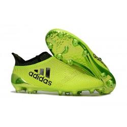 Scarpe da Calcio Nuove adidas X 17+ Purespeed FG - Giallo Nero