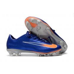 Nike Mercurial Vapor XI FG Scarpa Terreni Compatti - Blu Arancio