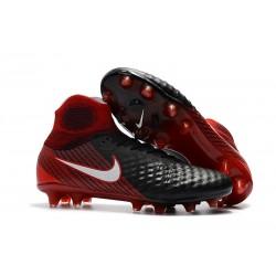 Scarpe da Calcio Uomo Nike Magista Obra II FG - Rosso Nero