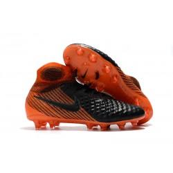 Scarpe da Calcio Uomo Nike Magista Obra II FG - Nero Arancio