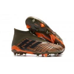 Scarpe da Calcio Nuova adidas Predator 18+ FG - Verde Arancio