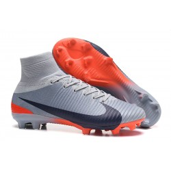 Nike Mercurial Superfly V DF CR7 FG Scarpe Calcio - Grigio Nero