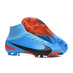Nike Scarpe da Calcio Mercurial Superfly FG V CR7 FG - Blu Nero