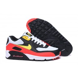 Scarpe Nike Air Max 90 Nero Rosso Amarillo