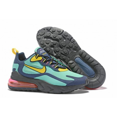 Nike Air Max 270 React - Blu Giallo
