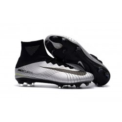 Nike Mercurial Superfly FG 5 DF FG Scarpa da Calcio - Metallico Nero