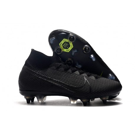 Nike Mercurial Superfly VII Elite SG-Pro Anti-Clog Nero