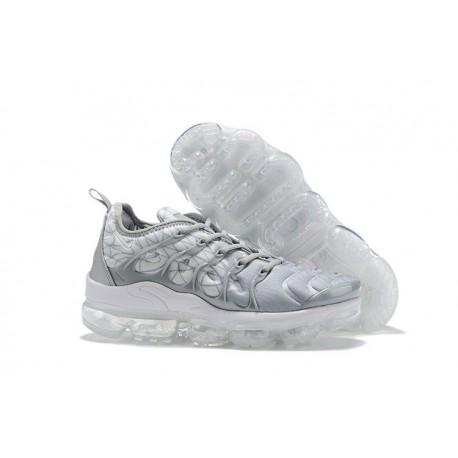 Nike Scarpa Nike Air VaporMax Plus - Uomo Grigio Bianco
