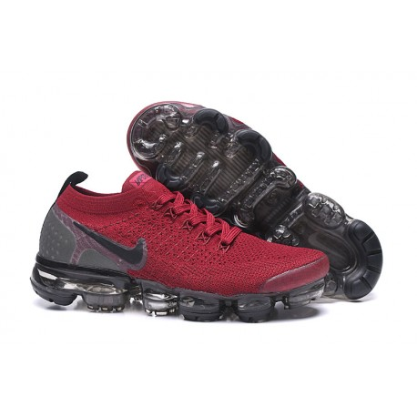 Nike Air VaporMax Flyknit 2.0 Rosso Nero