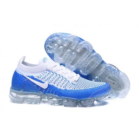 Nike Air VaporMax Flyknit 2.0 Blu Bianco