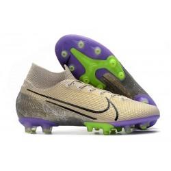 Nike Scarpa da Calcio Mercurial Superfly 7 Elite AG-Pro Sabbia Nero Viola