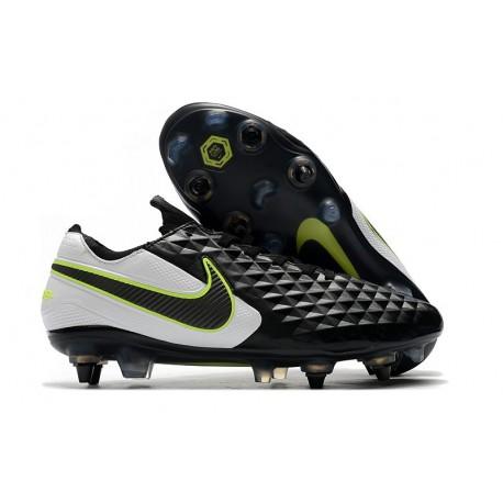 Scarpe Calcio Nike Tiempo Legend Elite SG Nero Bianco