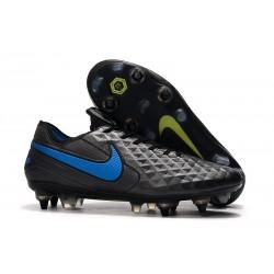 Scarpe Calcio Nike Tiempo Legend Elite SG Nero Blu