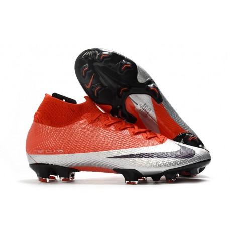Nike Mercurial Superfly VII Elite FG Future DNA Rosso Argento Nero