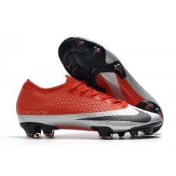 Nike Future DNA Mercurial Vapor 13 Elite FG ACC Rosso Argento
