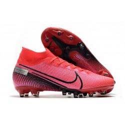 Nike Scarpa da Calcio Mercurial Superfly 7 Elite AG-Pro Cremisi Laser Nero