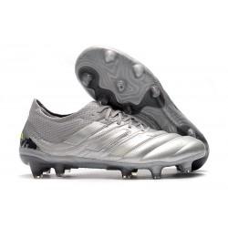Scarpe da Calcio Adidas Copa 19.1 FG -Argento Giallo Solar