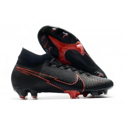 Nike Mercurial Superfly 7 Elite DF FG Nero Rosso