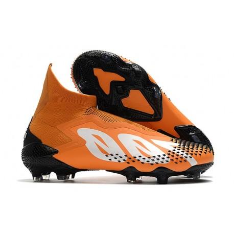 adidas Scarpa Calcio Predator Mutator 20+ FG Arancio Bianco Nero