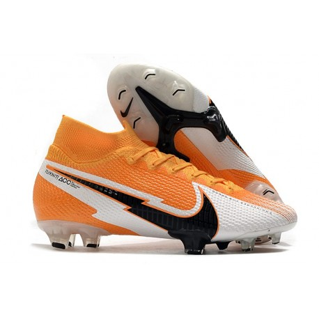 Nike Mercurial Superfly 7 Elite DF FG Arancione Laser Nero Bianco