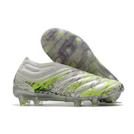adidas Scarpe da Calcio Copa 20+ FG Bianco Nero Core Verde Signal