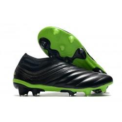 adidas Scarpe da Calcio Copa 20+ FG Nero Core Verde Signal