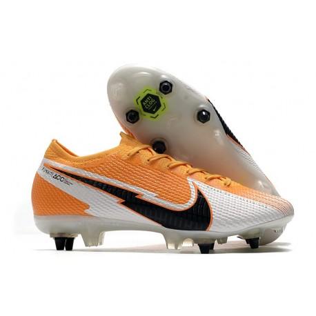 Nike Mercurial Vapor13 Elite SG-Pro AC Arancione Laser Nero Bianco