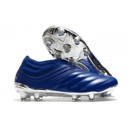 adidas Scarpe da Calcio Copa 20+ FG Blu Team Royal Argento Metallico