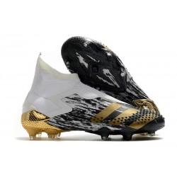 Scarpe adidas Predator Mutator 20+ FG Nero Bianco Oro